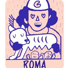Mi Proyecto del curso: Narrar en viñetas con un boli ROMA.. A Illustration und Comic project by Entraenelarte Entraenelarte - 02.01.2019