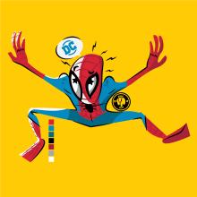 Spiderman :). Un proyecto de Diseño, Ilustración, Diseño de personajes, Bellas Artes, Diseño gráfico, Cómic, Ilustración vectorial, Bocetado, Dibujo, Ilustración digital y Dibujo artístico de Ed,Edd & Eddo - 03.01.2019