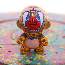 Art toys (Guerrero Jaguar). Un proyecto de Diseño de juguetes de Ruben Sandoval - 04.01.2019
