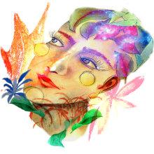 Mi Proyecto del curso: Retrato ilustrado en acuarela. Un proyecto de Bellas Artes, Dibujo a lápiz, Dibujo de Retrato y Dibujo artístico de Laura Bello - 07.01.2019