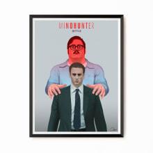 Mindhunter. Un proyecto de Ilustración, Televisión, Creatividad, Diseño de carteles e Ilustración digital de Ferran Sirvent Diestre - 08.01.2019