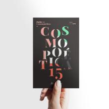 Poemario. Cosmopoética15. Un proyecto de Diseño editorial, Diseño gráfico, Tipografía, Ilustración vectorial y Creatividad de Bee Comunicación - 09.01.2019