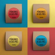 Calcetines Vibranding (Packaging y téxtil). Un proyecto de Packaging de Vibranding - 01.12.2018