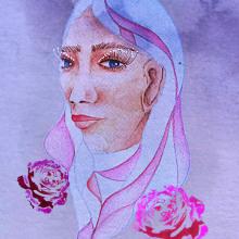 Acuarela: del pincel al píxel. Un proyecto de Bellas Artes, Dibujo de Retrato y Dibujo artístico de Laura Bello - 11.01.2019
