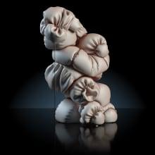 Série d'échec. A 3-D, Kunstleitung, Innendesign und Beleuchtungsdesign project by Alejandro Herrada González - 15.01.2019