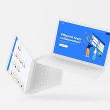 Fortask - Project management. A Illustration und UI / UX project by Px8 Digital Studio - 18.01.2019
