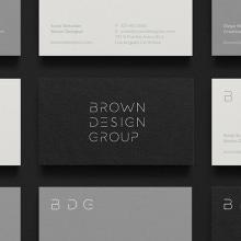 Brown Design Group. Um projeto de Design, Arquitetura, Br, ing e Identidade, Design de interiores, Web design, Desenvolvimento Web e Design de logotipo de Sonia Castillo - 21.01.2019