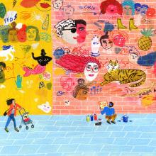 Ilustraciones para Lenny Letter. Un proyecto de Dibujo e Ilustración de María Luque - 23.01.2018