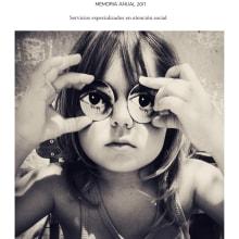 Memoria anual de la FMyV. . Un proyecto de Diseño editorial de Iana perez nollet - 01.05.2018