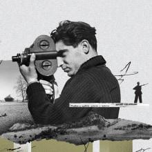 Tributo a Robert Capa. A Verlagsdesign, Illustration und Digitale Illustration project by Israel García Vargas - 29.01.2019
