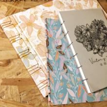 Libro de firmas para bodas. A Bookbinding project by andrea elias rosas - 02.03.2019