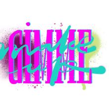 Mi Proyecto del curso: Los secretos dorados del lettering. Un proyecto de Diseño gráfico, Lettering y Dibujo de ROMINA LUPPINO - 03.02.2019