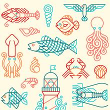 Consellería do Mar. Um projeto de Design, Ilustração, Instalações, Design de interiores, Ilustração vetorial e Desenho de Carlos Arrojo - 04.02.2019