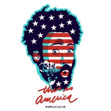 This is America.. . A Design, Illustration, Werbung, Grafikdesign, Vektorillustration, Zeichnung, Digitale Illustration, Porträtillustration und Digitales Marketing project by Francisco J. Eizaguirre - 18.11.2018