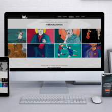 Mi Proyecto del curso: Website Miguellama.com. Un proyecto de Diseño Web y Desarrollo Web de Miguel Lama - 05.02.2019
