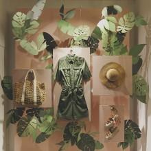 Escaparate Tropical Deluxe. Um projeto de Moda de Magalí Cordero Fabrés - 08.02.2019
