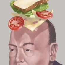 Sandwich Winston. Um projeto de Ilustração, Ilustração de retrato e Ilustração digital de ZRVK - 03.12.2018