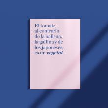 Proyecto: Cómo elegir tipografías. A Editorial Design, Graphic Design, T, and pograph project by Marta Darriba Manrique - 02.01.2019