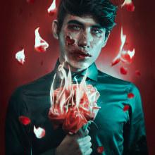 """""""Mad Love"""". Un proyecto de Fotografía de retrato, Fotografía de estudio y Fotografía digital de Alex Estrella - 13.02.2019"""
