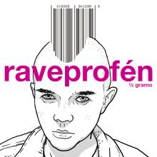 Raveprofén. 1/2 gramo. Um projeto de Ilustração, Ilustração de retrato e Ilustração digital de ZRVK - 03.02.2017