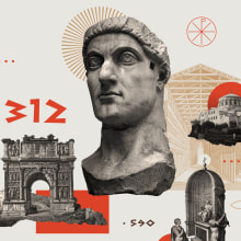 In Touch Magazine - Why Church History Matters. A Design, Verlagsdesign und Illustration project by Israel García Vargas - 15.11.2018