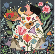 Puzzle EeBoo. Un projet de Peinture de Maya Hanisch - 20.01.2019