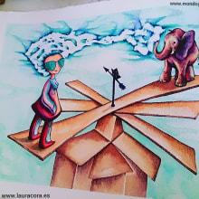 Gafonciospower. Un proyecto de Ilustración, Diseño de personajes, Bellas Artes, Pintura, Dibujo, Pintura a la acuarela y Dibujo artístico de laura cora - 21.02.2015