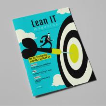 Lean IT Magazine. Um projeto de Direção de arte e Design editorial de Xana Morales - 01.04.2018