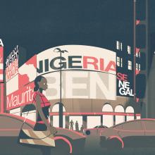 WEF: Africa's Growth. Un proyecto de Motion Graphics, Animación, Diseño de la información, Animación 2D, Stor y telling de Smog - 15.08.2017