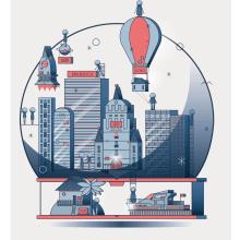 Mi Proyecto del curso: Con un libro todo es posible.. Un projet de Illustration vectorielle de Lucía Morales Pertegaz - 25.02.2019