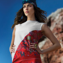 Revista Instyle Rocas rojas. Um projeto de Fotografia, Moda e Fotografia de moda de Zony Maya - 03.11.2016