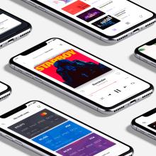 UI Design Collection 2. Um projeto de UI / UX, Design interativo e Web design de Christian Vizcarra - 28.02.2019