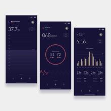 UI Design Collection 1. Um projeto de UI / UX, Design interativo e Web design de Christian Vizcarra - 28.02.2019