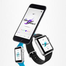 Nike Free Flyknit - MicrositeNuevo proyecto. Um projeto de UI / UX, Design interativo e Web design de Christian Vizcarra - 28.02.2019