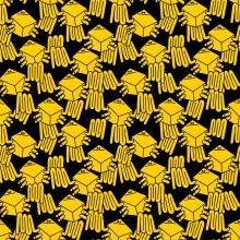 CRABS PARTY. Un proyecto de Ilustración, Pattern Design, Diseño de moda e Ilustración textil de Juan Díaz-Faes - 04.03.2019