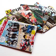 Revistas del motor. A Design, Editorial Design, and Graphic Design project by Alejandro Zarcero Clavería - 08.06.2017