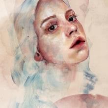 Mi Proyecto del curso: Retrato ilustrado en acuarela. Un proyecto de Ilustración de Sofía Gregorio - 10.03.2019