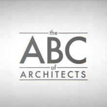 The ABC of Architects. Um projeto de Design, Motion Graphics, Cinema, Vídeo e TV, Animação, Arquitetura, Design gráfico, Arquitetura da informação, Vídeo, Infografia, Ilustração vetorial, Animação 2D, Criatividade, Stor e telling de Andrea Stinga - 12.03.2019