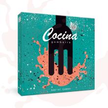 """Book cover - """"Cocina gamberra"""". Un proyecto de Creatividad, Dirección de arte y Diseño editorial de María Criado - 12.03.2019"""