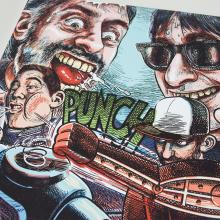 Third Strike: Second Round!. Un proyecto de Ilustración, Dirección de arte, Diseño gráfico, Packaging, Lettering y Dibujo de Ink Bad Company - 14.03.2019