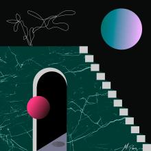 Pensamientos Flotantes. Un proyecto de Diseño, Ilustración, Ilustración vectorial e Ilustración digital de Michelle Parra - 15.03.2019