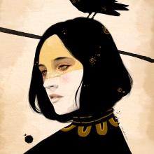 BLACK (PERSONAL). Un progetto di Illustrazione di Ricard López Iglesias - 19.03.2019