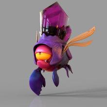 Beetle Sculpt - Amazing concept by Katya Art. Um projeto de Design de personagens, Design de jogos, Criatividade e Concept Art de Darlon Ximenes Dos Santos - 20.03.2019