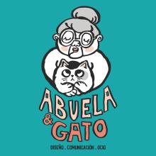 Mi Proyecto del curso: Diseño de una identidad visual con ilustración (Abuela y Gato). A Illustration und Kunstleitung project by Jose Soriano Contreras - 21.03.2019