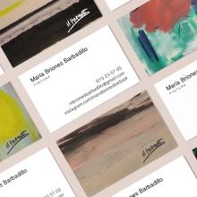M. Briones business cards. Um projeto de Design gráfico de Clara Briones Vedia - 27.03.2019
