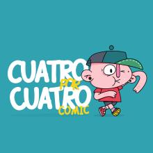 Cuatro por cuatro comic. Un projet de Illustration de Daniel Ramírez - 28.03.2019
