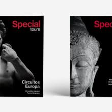 branding, advertising and editorial  for Special Tours. Un proyecto de Publicidad, Br, ing e Identidad, Diseño editorial y Diseño de carteles de Joaquin Austin - 01.01.2017