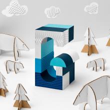 ¡Lo corporativo no tiene que ser aburrido! Fotografía y diseño para la tarjeta de Navidad de Glezco. Un proyecto de Fotografía, Dirección de arte, Diseño gráfico, Tipografía, Retoque fotográfico y Creatividad de Låpsüs | Contenido Visual - 16.12.2018