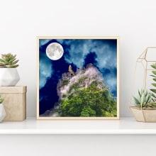 Fotocomposición de paisaje, creando cuadros. A Design project by elizabeth_v_sant - 29.03.2019
