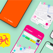 App Bike Sharing - Tembici / Bike Itaú. A UI / UX und Mobile Design project by Diogo Kpelo - 01.04.2019